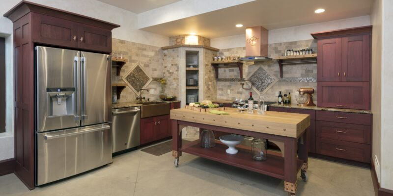 What Color Hardwood Floor Goes With Cherry Cabinets
