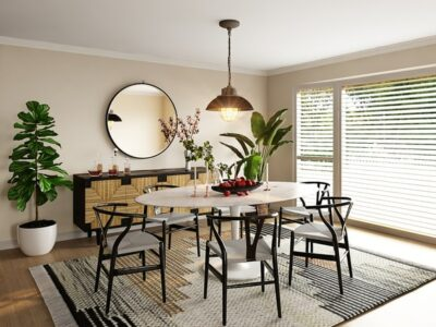 How Big Should A Dining Room Rug Be
