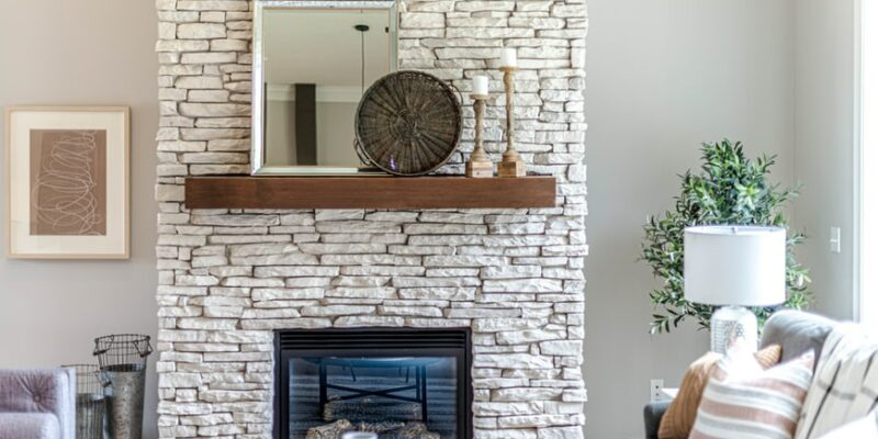 What to put in an empty fireplace