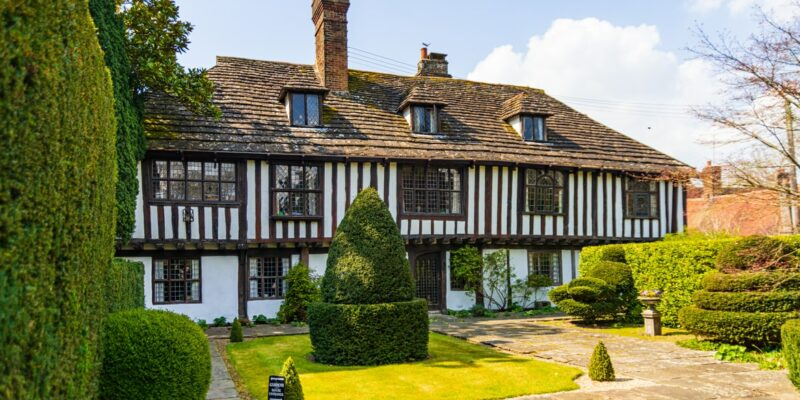 How to change the look of a Tudor style house