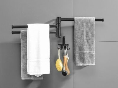 Are Towel Bars Out Of Style?