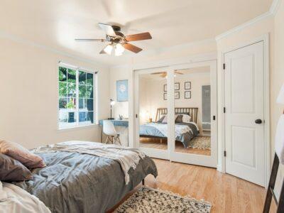 Ceiling Fan or Chandelier in Living Room