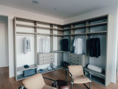What to Do With Open Space above Closet