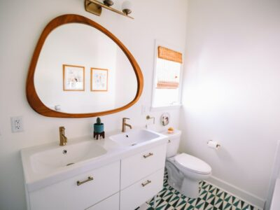 Mixing Chrome and Brushed Nickel Finishes in Bathroom