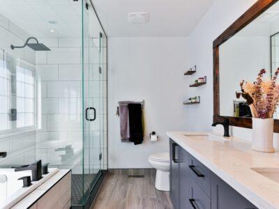 How To Clean Up Shattered Shower Door
